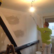 Malermeister Steenweg bei der Verarbeitung von RapidXtreme